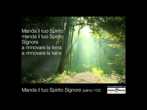 People In Praise -  Manda il tuo Spirito Signore (Meditation&Worship)