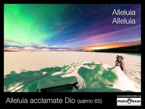 Peopleinpraise - Alleluia Acclamate Dio (Meditation&Worship)