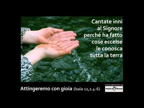 People In Praise - Attingeremo con gioia (Meditation&Worship)