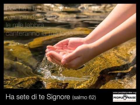 Peopleinpraise - Ha sete di te Signore (Meditation&Worship)