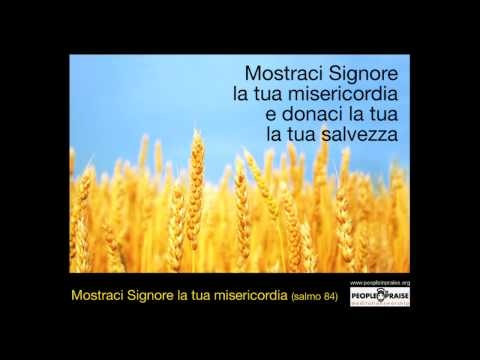 People In Praise - Mostraci Signore la tua misericordia (Meditation&Worship)