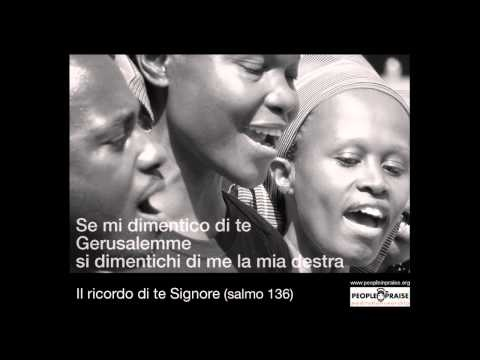 People In Praise - Il ricordo di te Signore (Meditation&Worship)