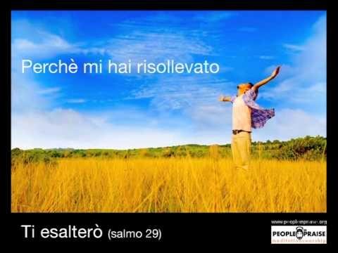 Peopleinpraise - Ti esalterò (Meditation&Worship)