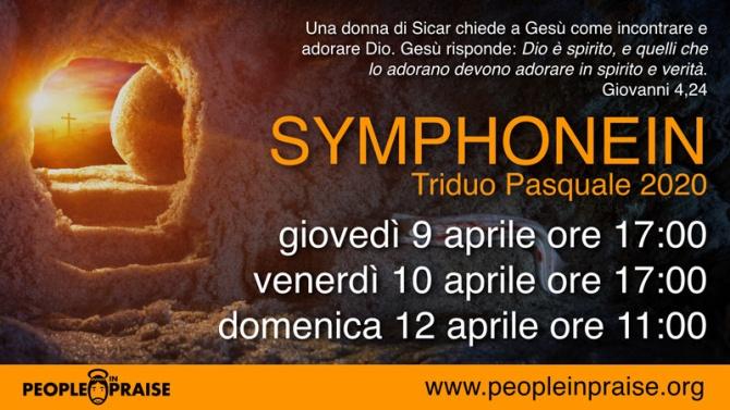 Symphonein Triduo Pasquale 2020